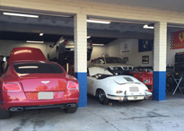 Cars at Garage